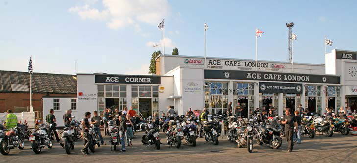 The Ace Cafe, Café Racers, and Racing Aces Pt. 2